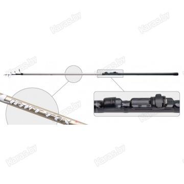Удочка с кольцами  Akara Light Fox, 5 м, углеволокно, тест: 5-25 г, 220 г