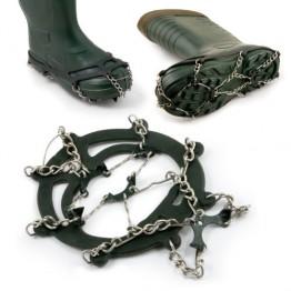 Шипы-цепи против скольжения для обуви зимние Akara