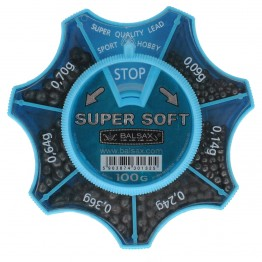 Набор грузил Balsax Super Soft 100г, 0.09-0.70г