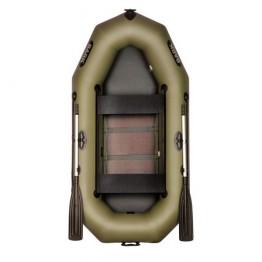 Надувная 2-ух местная ПВХ лодка BARK B-240C с передвижными сидениями