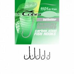 Крючки Cobra BAITHOLDER C1101NSB-***