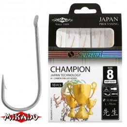Крючки с поводками Mikado Sensual Champion N