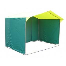 Торговая палатка Митек Домик 3.0x2.0м K (квадратная трубка 20х20мм, ПВХ)