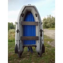 Надувная 3-ёх местная ПВХ лодка Солар Максима 330 килевая с транцем