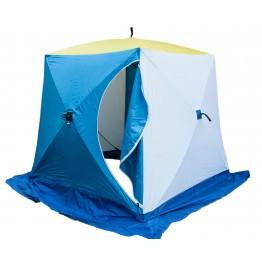 Палатка зимняя СТЭК КУБ 2 Баллистик (1.85х1.85х1.85м)