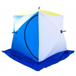 Палатка зимняя СТЭК КУБ 2 трехслойная (1.85х1.85х1.85м)