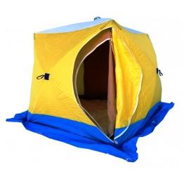 Палатка зимняя СТЭК КУБ 3 двухслойная (2.2х2.2х2.05м)