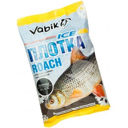 "Прикормка зимняя Vabik Ice Roach Black ""Плотка"" (черная) 0.75 кг"