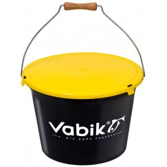 Ведро для прикормки с крышкой Vabik 13-25 л