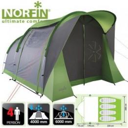 Четырехместная палатка Norfin ASP 4 ALU NF