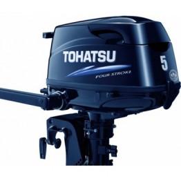 Подвесной 4-х тактный бензиновый лодочный мотор TOHATSU MFS5С DS