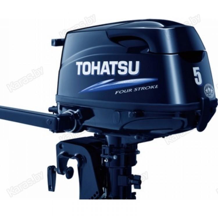 лодочный мотор тохатсу 5 л.с. 4-х такт