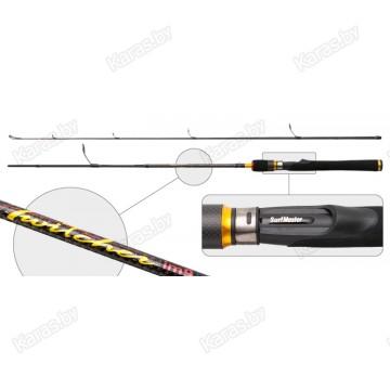 Спиннинг SURF MASTER Twitcher IM9-SM-2505-198, углеволокно, штеккерный, 1,98 м, тест: 7-35 г , 350 г