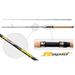 Спиннинг SURF MASTER Rapid Series Spin 240, углеволокно, штекерный, 2,4 м, тест: 5-25 гр, 200 г