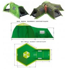 Туристическая палатка LOTOS Summer 5