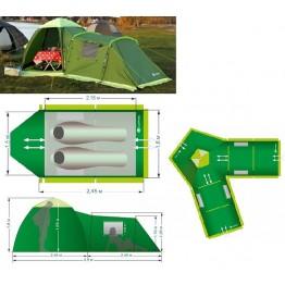 Туристическая палатка LOTOS Summer 3