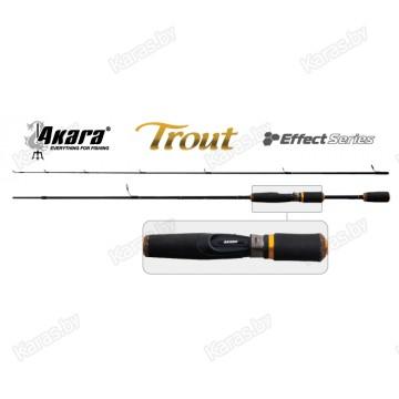 Спиннинг Akara Effect Series Trout, углеволокно, штекерный, 1,8 м, тест: 4-18 гр, 110 г
