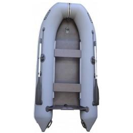 Надувная 2-ух местная ПВХ лодка Жерех 270 с килем