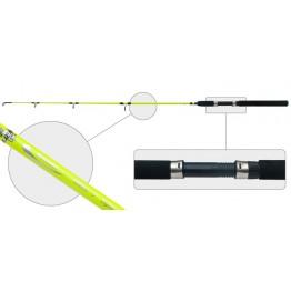 Спиннинг троллинговый AKARA Rauma, стекловолокно, 1.2 м, тест: 50-100 г, 130г