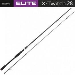 Спиннинг SALMO ELITE X-TWITCH 2,43м, тест 8-28 г, уголь IM8