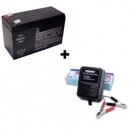 Зарядное устройство Vanson + АКБ Casil 12V 7Ah (при покупке эхолота)