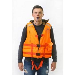 Спасательный жилет двухсторонний MedNovTex до 80 кг