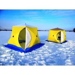 Палатка зимняя СТЭК КУБ 3 (2.2х2.2х2.05м)