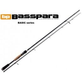 Спиннинг Major Craft Basspara 662 L, углеволокно, штеккерный, 1,99 м, тест: 1-7 г, 108 г