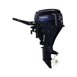 Подвесной 4-х тактный бензиновый лодочный мотор TOHATSU MFS20D S