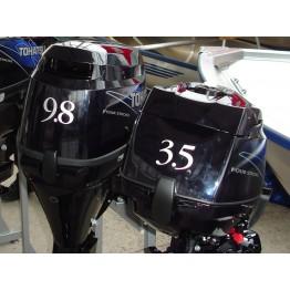 Подвесной 4-х тактный бензиновый лодочный мотор TOHATSU MFS3.5B S