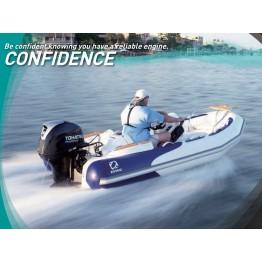 Подвесной 4-х тактный бензиновый лодочный мотор TOHATSU MFS50 AETL