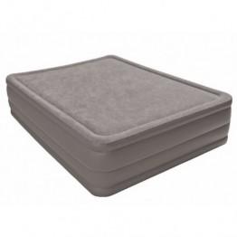 Надувной матрас-кровать INTEX Foam Top Bed 152х203х51 см