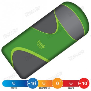 Спальный мешок NORFIN SCANDIC COMFORT PLUS 350 Green (-10°С)