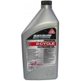 Моторное масло QuickSilver Marine Lubricants Premium 2-stroke