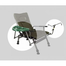 Столик и подставка для удочки к креслу Elektrostatyk F5R