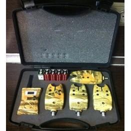 Комплект сигнализаторов поклевки с пейджером GLOBE TLI-04 (4+1) 07