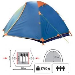 Туристическая палатка Sol Erie