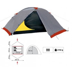 Экспедиционная 2-х местная палатка TRAMP Sarma