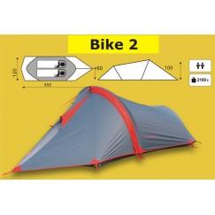 Экспедиционная 2-х местная палатка TRAMP Bike 2