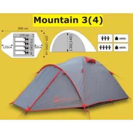 Экспедиционная 4-х местная палатка TRAMP Mountain 4