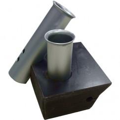Универсальный крепежный блок (подставка для удочек)