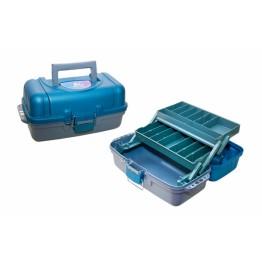 Ящик двухполочный для рыболовных приманок и принадлежностей ТРИ КИТА ЯР-02