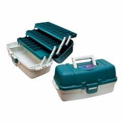 Ящик трёхполочный для рыболовных приманок и принадлежностей ТРИ КИТА ЯР-03