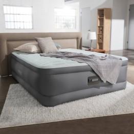 Надувная кровать INTEX 64486 Prime Aire 152 х 203 х 46 (насос 220В)