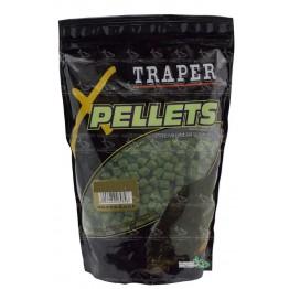 Прикормка TRAPER PELLETS MIX  (палтус) 8+12+16 мм/1 кг