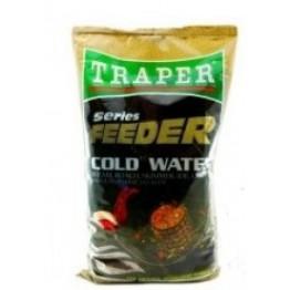 Прикормка TRAPER FEEDER 1 kг Cold Water (Черный)