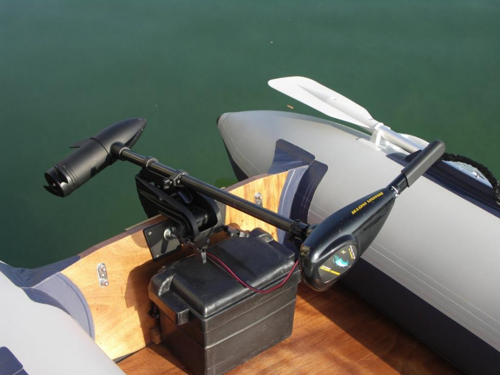 Электромоторы для надувных лодок своими руками