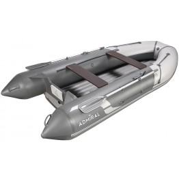 Надувная 5-ти местная ПВХ лодка Адмирал 355S НДНД