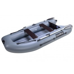 Надувная 3-ёх местная ПВХ лодка Адмирал 290 НДНД