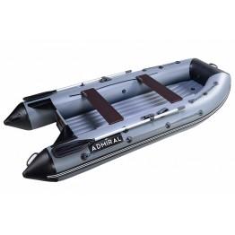 Надувная 4-ёх местная ПВХ лодка Адмирал 320 НДНД